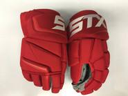 "STX Stallion 500 Pro Stock Custom Hockey Gloves 14"" Detroit Red Wings NHL"