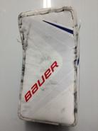 BAUER VAPOR 1X Goalie Blocker SKAPSKI Pro Stock Hartford Wolfpack AHL (2)