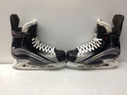 BAUER VAPOR 1X CUSTOM PRO STOCK ICE HOCKEY SKATES 10 E USED HARTFORD WOLFPACK HUGHES CUSTOM AHL