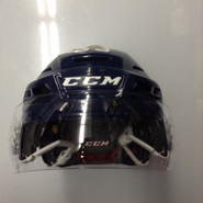 CCM RESISTANCE PRO STOCK HOCKEY HELMET NAVY BLUE SMALL SPRINGFIELD THUNDERBIRDS #33 AHL