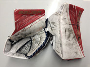 BAUER Supreme 1S Goalie Catcher and Blocker McKENNA Pro Stock Springfield Thunderbirds AHL Full Right (2)