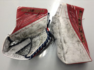 BAUER Supreme 1S Goalie Catcher and Blocker McKENNA Pro Stock Springfield Thunderbirds AHL Full Right (3)