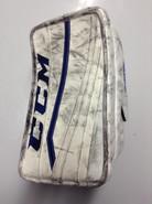 CCM Extreme Flex 2 Pro Goalie Blocker GUDLEVSKIS Syracuse Crunch Pro stock AHL