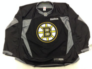 Reebok Edge 3.0 Custom Pro Stock Hockey Practice Jersey Boston Bruins Black 58 New