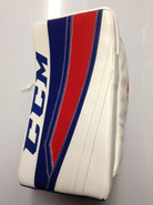 CCM Extreme Flex 2 Pro Goalie Blocker SKAPSKI New York Rangers Pro Stock NHL (2)