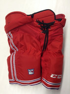 CCM HP UCLP Custom Pro Stock Hockey Pants Red XL X-large New York Rangers