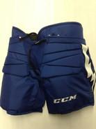 CCM HPG 13A Custom Pro Stock Hockey Goal Pants Royal XL X-Large Tampa Bay Lightning #33