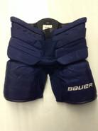 Bauer Supreme 1S Custom Pro Stock Hockey Goal Pants Navy Large Panthers MCKENNA