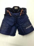 Bauer Supreme Custom Pro Stock Hockey Goal Pants Navy Large Panthers MCKENNA