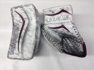 Vaughn Velocity 6 Vision 5500 Goalie Glove and Blocker RENYARD Pro stock UMASS NCAA Used