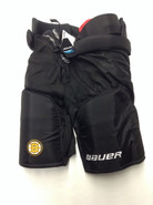 "Bauer Vapor Custom Pro Stock Hockey Pants Black XL X-Large +1""  Boston Bruins NHL LUCIC"
