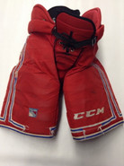 CCM HP45 Custom Pro Stock Hockey Pants Large New York Rangers NHL Used