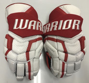 "BU Covert QRL Pro Stock Custom Hockey Gloves 15"" BU Terriers New"