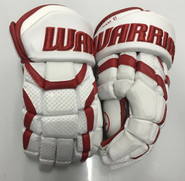 "BU Covert DT1 Pro Stock Custom Hockey Gloves 15"" BU Terriers New"