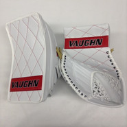 Vaughn Velocity V6 2200 Goalie Glove and Blocker HACKETT Pro stock NEW Diamond Stitch