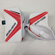 BAUER VAPOR 1X Goalie Blocker and Glove Set Pro Stock Custom AHL NEW