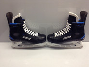 BAUER NEXUS 1N CUSTOM PRO STOCK ICE HOCKEY SKATES 11 E NEW YORK RANGERS NHL New