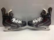 BAUER VAPOR X90 CUSTOM PRO STOCK ICE HOCKEY SKATES 10.5 D 10 7/8 D  NEW YORK RANGERS NASH NHL USED