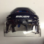 BAUER BHH 5100 PRO STOCK HOCKEY HELMET NAVY BLUE SMALL NHL