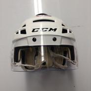 CCM VECTOR V08 PRO STOCK HOCKEY HELMET WHITE MEDIUM NEW YORK RANGERS NHL #92