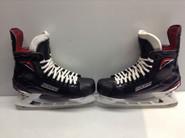 BAUER VAPOR 1X 2.0  CUSTOM PRO STOCK ICE HOCKEY SKATES 11 D NHL  LIKE NEW