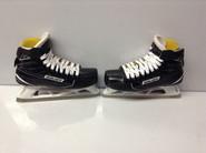 BAUER Supreme 1S Custom Pro Stock Ice Hockey Goal Skates 8.25 EE CUSTOM NHL
