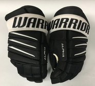 "Warrior Alpha QX Pro Custom Pro Stock Hockey Gloves Pittsburgh Penguins 14"" NHL"