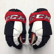 "CCM HGTKPP Pro Stock Custom Hockey Gloves 15"" Portland Pirates AHL THP"
