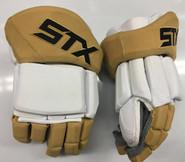 """STX Stallion 500 Pro Stock Custom Hockey Gloves 14"""" Vegas Golden Knights NHL"""