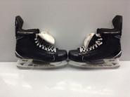BAUER SUPREME 1S CUSTOM PRO STOCK ICE HOCKEY SKATES 10.5 D AHL Used PEDRIE (2)