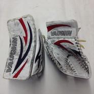 Vaughn Velocity  Vision 5500 Goalie Glove and Blocker Pro stock Custom Used