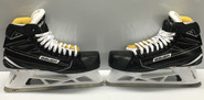 Bauer Supreme 1S Pro Stock Custom Goalie Skate Halverson 11 D NY Rangers NEW