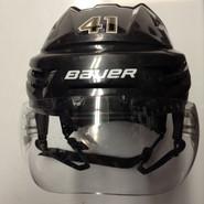 BAUER REAKT VN PRO STOCK HOCKEY HELMET BLACK MEDIUM BOSTON BRUINS NHL #41