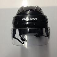 BAUER REAKT VN PRO STOCK HOCKEY HELMET BLACK SMALL BOSTON BRUINS NHL