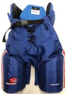 Bauer Nexus Custom Pro Stock Hockey Pants Royal Medium UML New