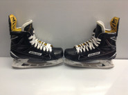 BAUER SUPREME 1S CUSTOM PRO STOCK ICE HOCKEY SKATES 8.5 E  NHL USED