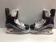 BAUER VAPOR 1X CUSTOM PRO STOCK ICE HOCKEY SKATES 7.75 EE USED NJ DEVILS NHL #20