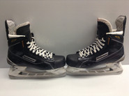 BAUER SUPREME MX3 CUSTOM PRO STOCK ICE HOCKEY SKATES 9 E USED CUSTOM NHL