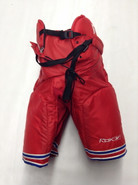 Reebok MHP520 Custom Pro Stock Hockey Pants Red Medium New York Rangers