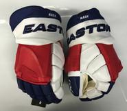 """Easton GX Custom Hockey Gloves Pro Stock 14"""" Nash NY Rangers NHL"""