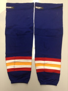 CCM EDGE CUSTOM HOCKEY SOCKS NORFOLK ADMIRALS ROYAL BLUE PRO STOCK AHL XL NEW