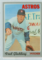 1970 Topps Baseball 208 Fred Gladding Houston Astros Near-Mint Plus