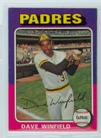 1975 Topps Baseball 61 Dave Winfield San Diego Padres Excellent