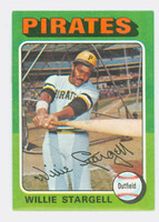 1975 Topps Baseball 100 Willie Stargell Pittsburgh Pirates Excellent