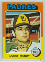 1975 Topps Baseball 112 Larry Hardy San Diego Padres Near-Mint to Mint