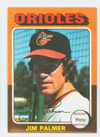1975 Topps Baseball 335 Jim Palmer Baltimore Orioles Very Good to Excellent