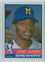 1976 Topps Baseball 63 Bobby Darwin Milwaukee Brewers Near-Mint to Mint