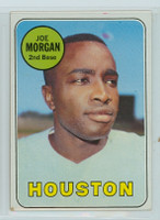 1969 Topps Baseball 35 Joe Morgan Houston Astros Excellent to Excellent Plus