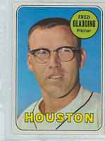 1969 Topps Baseball 58 Fred Gladding Houston Astros Near-Mint