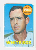 1969 Topps Baseball 75 Luis Aparicio Chicago White Sox Very Good to Excellent